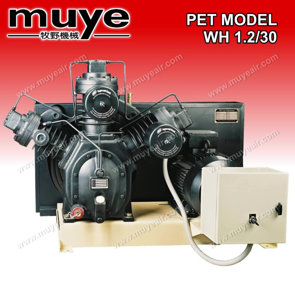 high piston 220V wh 1.2-30 mpa air compressor model china supplier