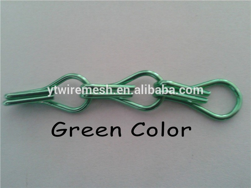 Aluminum chain fly screen for door curtain