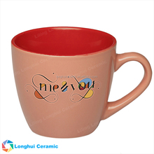 7oz personalized two-toned promotional custom ceramic espresso mug