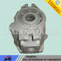 Casting grey iron worm gear part gearbox body