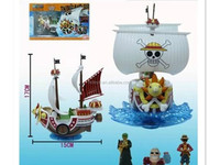 wholesale ONE PIECE 19cm Thousand Sunny PVC Plastic japanese anime action figure supplier