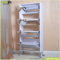 home furniture full length mirror shoe cabinet with 4 drawers