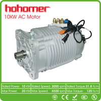 waterproof electric car motor 96v 10kw