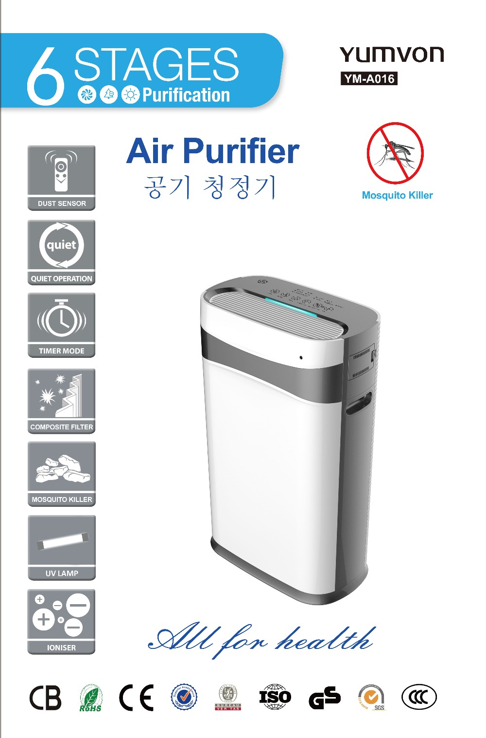 home intelligent air cleaner air purifier