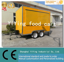 Shanghai (China) Yiying Manufacturer Multi-functional High Quality Mobile Food kitchen trailer