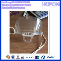 Brazil Transparent Face Mask For Food Service Clear Anti-fog Plastic Mouth Cover Face Mask