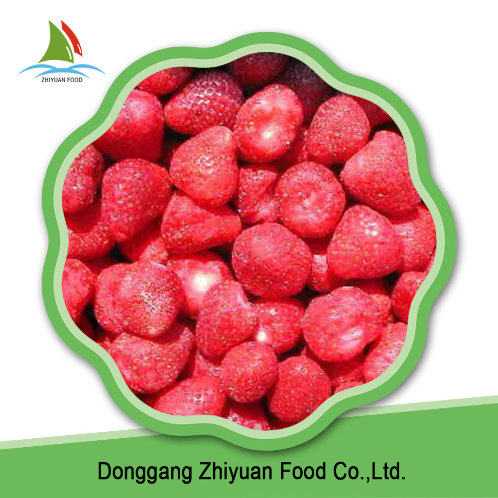 China good quality bulk wholesale red sweet frozen strawberry