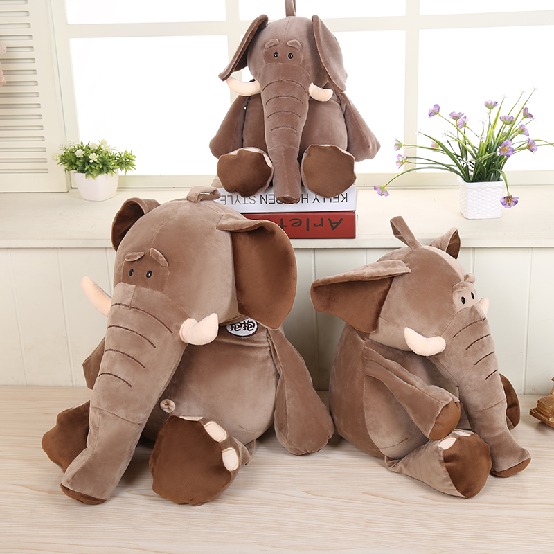 Super quick dry soft luxury custom very funny plush elephant hand puppet