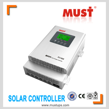 solar charge controller 12v/ 24v/ 48v auro work MPPT controller for 5000W inverter