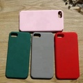 Candy color full coverage matte PC hard case for iphone mobile phone cover