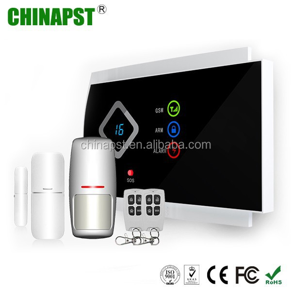 Smart GSM dual network home security gsm wireless house alarm system,safety house alarm PST-G10A