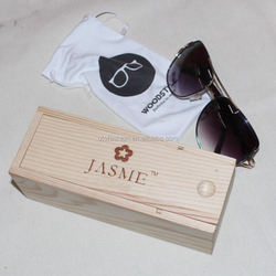 YT Nice Wooden Sunglasses Case for Eyewear