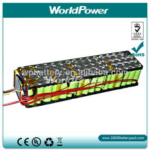 LifePo4 48V15Ah Lithium Battery Pack for Electric Scooter Batteries