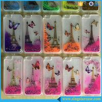 Hot Selling Luxury Printed View Glitter Star Liquid Phone Case Cover For Huawei G610
