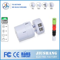 Worldwide Plug to America Power Socket Travel Adapter