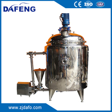 1000L stainless steel 304/316L liquid soap making machine, homogenzing tanks