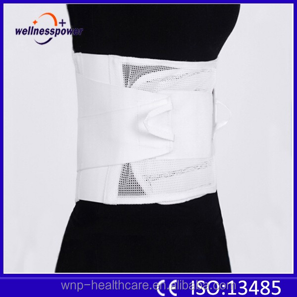 Waist trimmer belt with high quality Working lumbar belt waist support lower back brace for back spine pain