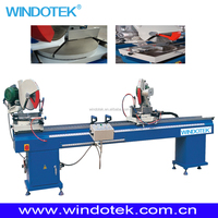 Aluminum Window Machinery/Aluminum Curtain Wall CNC Double Mitre Precision Any Angle Cutting Saw LJB2-350x3500