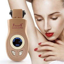 LED Blue Light Home Use Facial Women Hair Removal