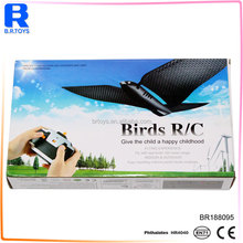 New Arrived 4 Channel bird Remote Control Helicopter mini rc flying insects toy
