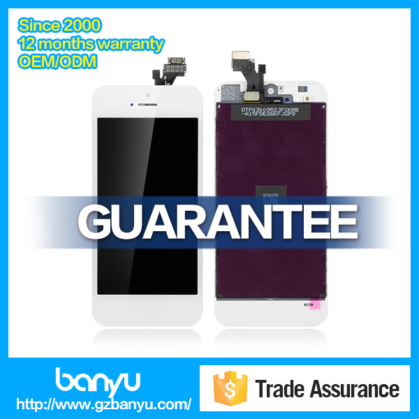 Cheap price lcd screen assembly spare parts replacement for iphone clone 5
