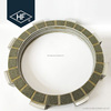 Paper based motorcycle racing clutch plate