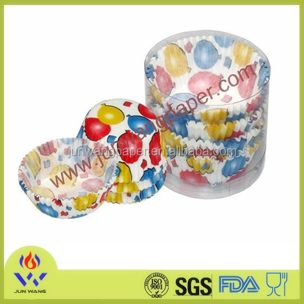 Exquisite package for paper cake cup