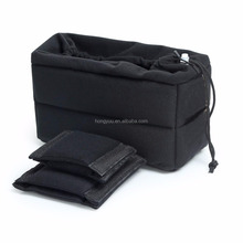 Padded DSLR Camera Insert Shockproof Camera Bag Insert Camera Cases Partition Protective soft Bag