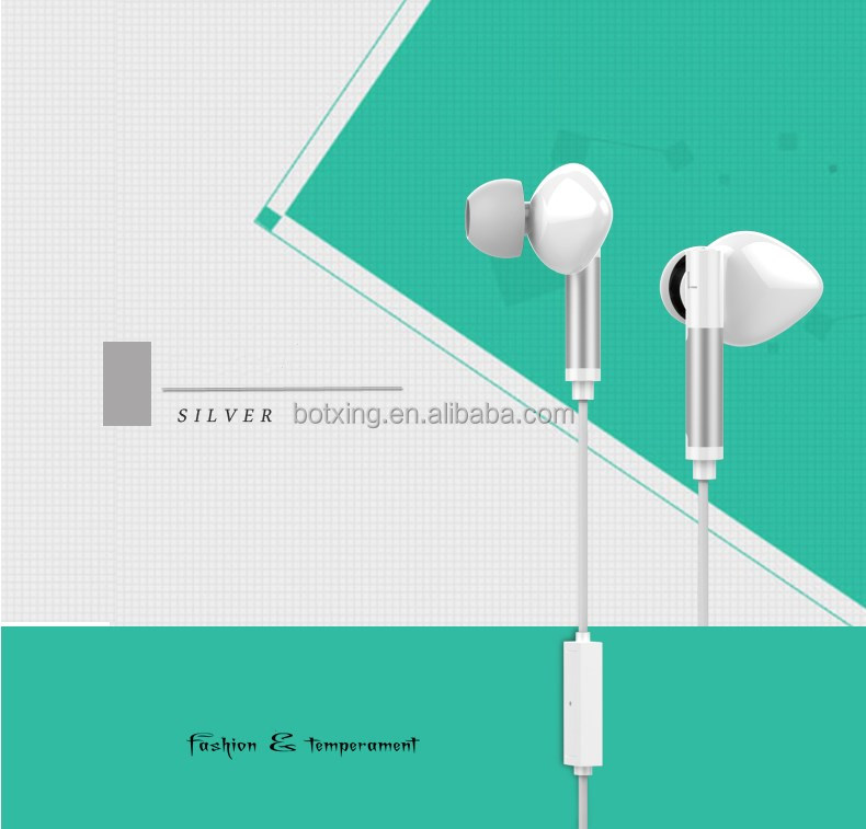 Digital music earphone with Remote and Mic for iphone 7