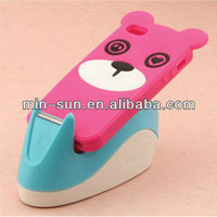Cartoon Bear Design Silicone Protective Phone Cover Cases
