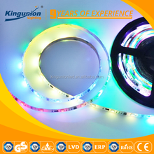 7.2w per meter hollow waterproof IP65 CE smd 5050 addressable rgb led strip