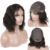 Natural Looking cuticle aligned hair pre plucked hairline human hair closure wig