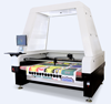 Auto-feeding Camera Positioning T Shirt Jeans Shoe Leather Fabric Co2 Laser Printing Cutting Machine Price