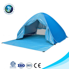 Waterproof 2-3 Person Pop Up Beach Tent, Portable Folding Automatic Instant Sun Shelters Family Backpacking Hiking Camping Tent
