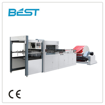 high quality of Computerized and Die-cutting Machine