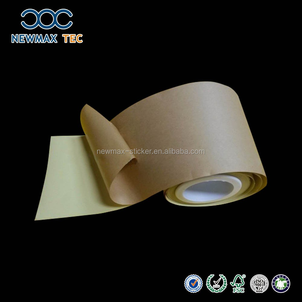 Double sided craft tape - Double Sided Adhesive Tape Making Machine With Craft Paper