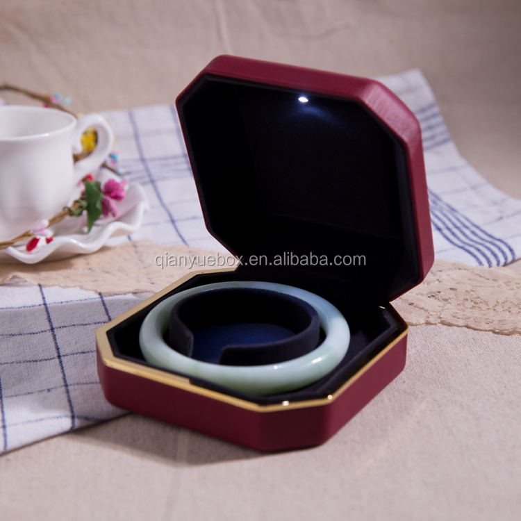 top selling plastic injection bracelet/ring/necklace box