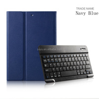 Removable Leather Case With Removable Bluetooth Keyboard Case for ipad air