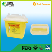 sharp container /Medical Sharps Container For Syringe/ sharp box