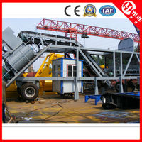 High qualtiy CE certificate 35m3 mobile cement batching plant,batch solvent extraction plant,mobile concrete batch plant