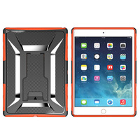OEM new design wholesale armor super protective PC+TPU cover heavy duty tablet case for Ipad Pro