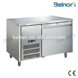HN12/Under Counter Stainless Steel Commercial Salad Bar Refrigerator for Beverage and Drink