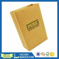 Wholesale customized design eco-friendly printed gift craft paper bag
