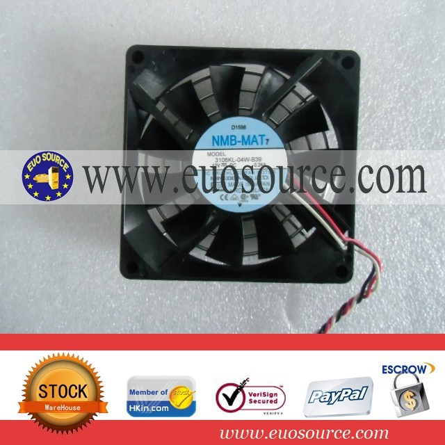 NMB axial flow fan 3106KL-04W-B39