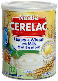 Cerelac baby food Honey & Wheat with Milk 400g