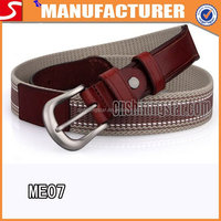 Fashionable Canvas Stripe Belts For Boys
