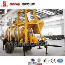DHB Mobile Type Asphalt Batch Mixing Plant with 40t/h Production Capacity/Oil Burner/Water Dust Filter
