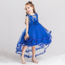 Newest Fashion Lovely Kid Summer Cotton Boutique Embroidery Flower Girl Dresses Wedding