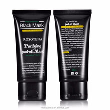 Purifying Peel-off Mask Black Mud Pore Removal Mask For Face Nose Acne Treatment