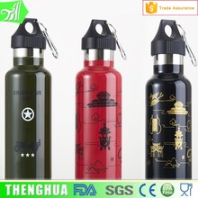 Double Wall Stainless Steel Water Bottle Keep Hot Water